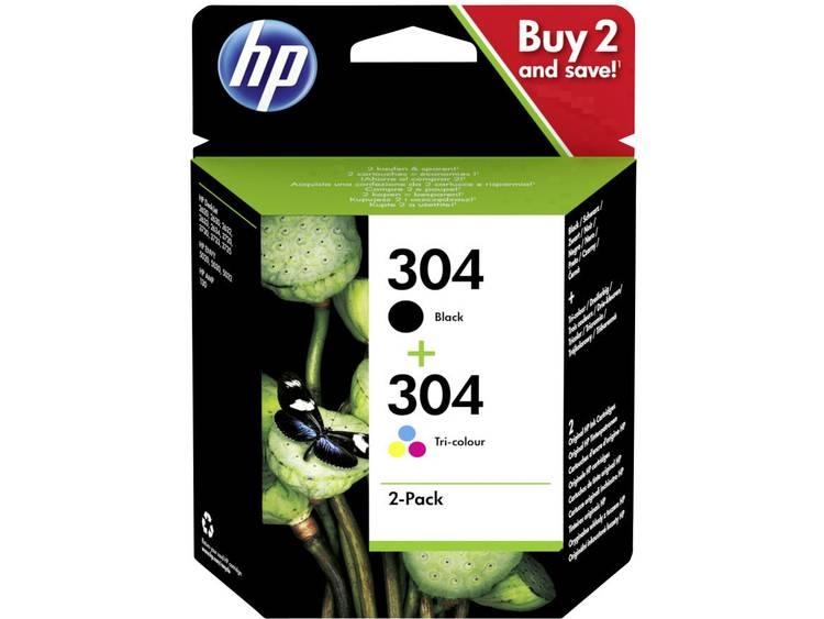 HP Cartridge 304 Origineel Combipack Zwart Cyaan Magenta Geel 3JB05AE Cartrid