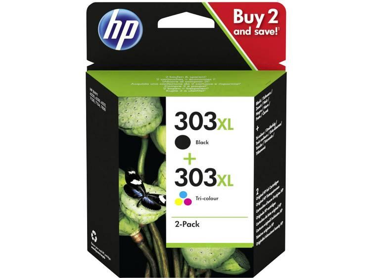 HP Cartridge 303XL Origineel Combipack Zwart Cyaan Magenta Geel 3YN10AE Cartr