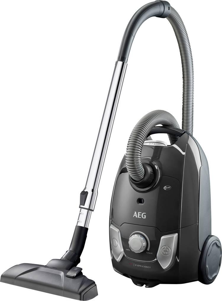 Image of Stofzuiger met zak AEG Electrolux VX4 EasyGo Energielabel (A - G) A Grijs metallic