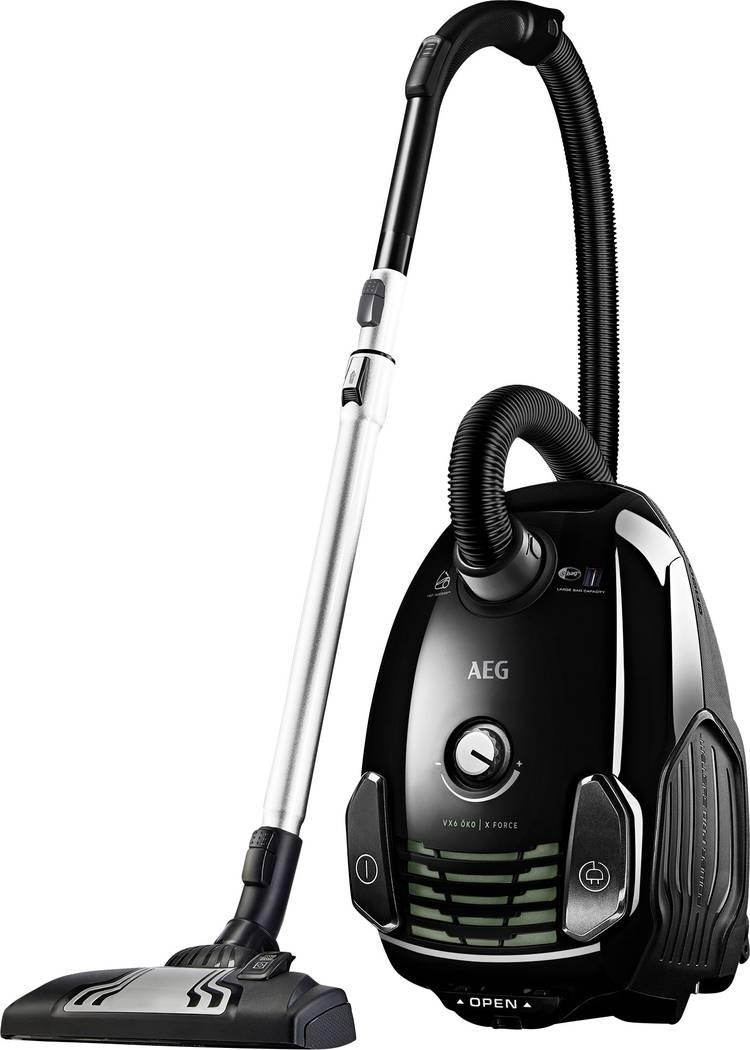 Image of Stofzuiger met waterfilter AEG Electrolux VX6 PowerForce Energielabel (A - G) A Ebony black