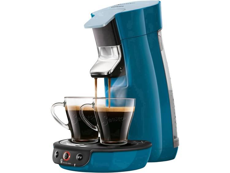 SENSEO® Viva Café HD6563-70 Koffiepadmachine Blauw In hoogte verstelbare koffietuit