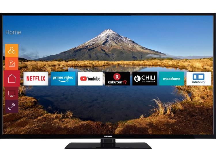 Telefunken C55U446A LED TV 140 cm 55 inch Energielabel A+ A++ E DVB T2 DVB