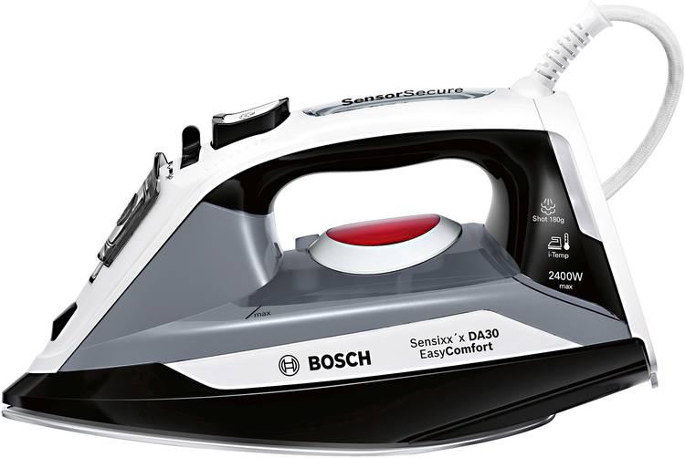 Bosch Haushalt TDA30EASY Stoomstrijkijzer Zwart 2400 W