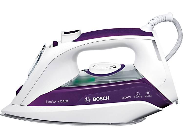 Bosch Haushalt TDA5028020 Stoomstrijkijzer Wit, Violet 2900 W