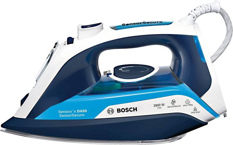 Bosch Haushalt TDA5029210 Stoomstrijkijzer Nachtblauw. IJsblauw 2900 W
