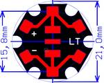 Cree® XLamp® MX-6 op Star-print