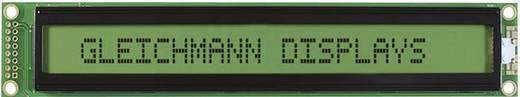 Gleichmann GE-C4002A-YYH-JT/R LC-display Zwart Geel-groen (b x h x d) 182 x 33.5 x 13.6 mm