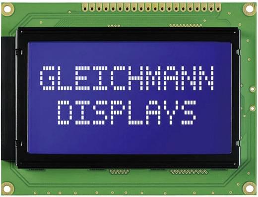 Gleichmann GE-G12864A-YYH-V/RN Grafisch display Groen Geel-groen (b x h x d) 93 x 70 x 13.6 mm
