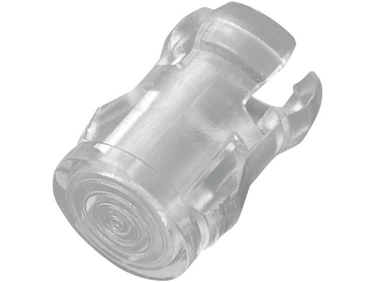 Transparante lichtkap geschikt voor LEDs van 5 mm, EDK-5A-PCW