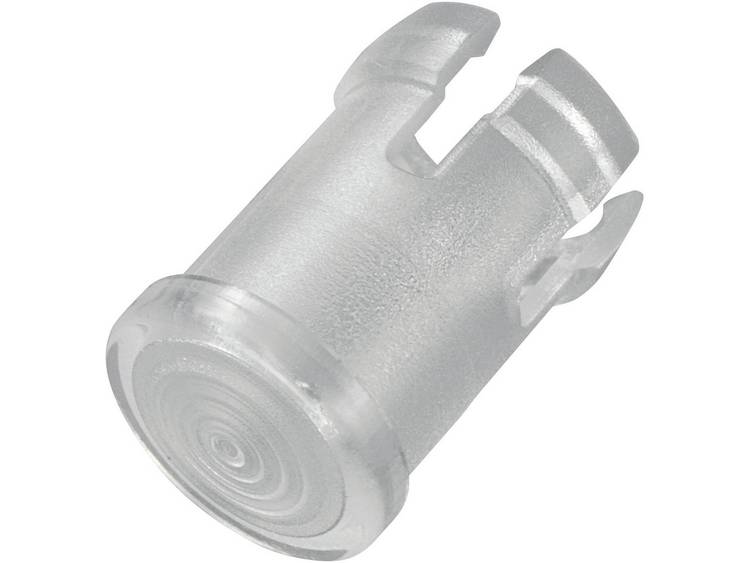 Transparante lichtkap geschikt voor LEDs van 5 mm, EDK-1C-PCW