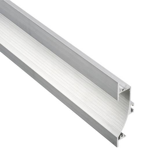 Barthelme 62398421 Wand-inbouwprofiel Aluminium (geëloxeerd) (l x b x h) 1000 x 23 x 90 mm