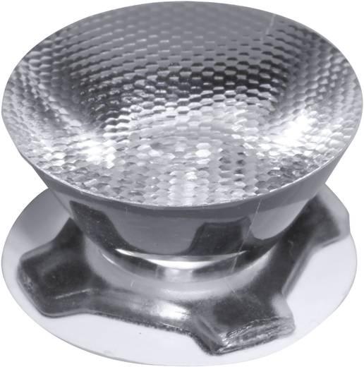 LED-optiek Helder, Geribbeld Transparant 28 °
