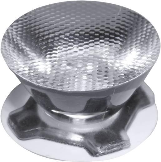 LED-optiek Helder, Geribbeld Transparant 32 °