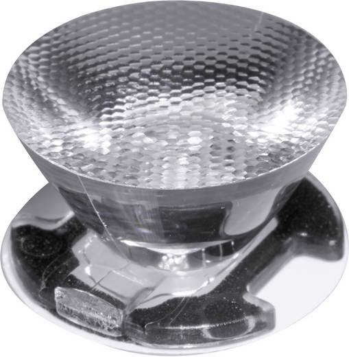 Ledil CA11388_Emily-M LED-optiek Helder, Geribbeld Transparant 18 ° Aantal LED´s (max.): 1