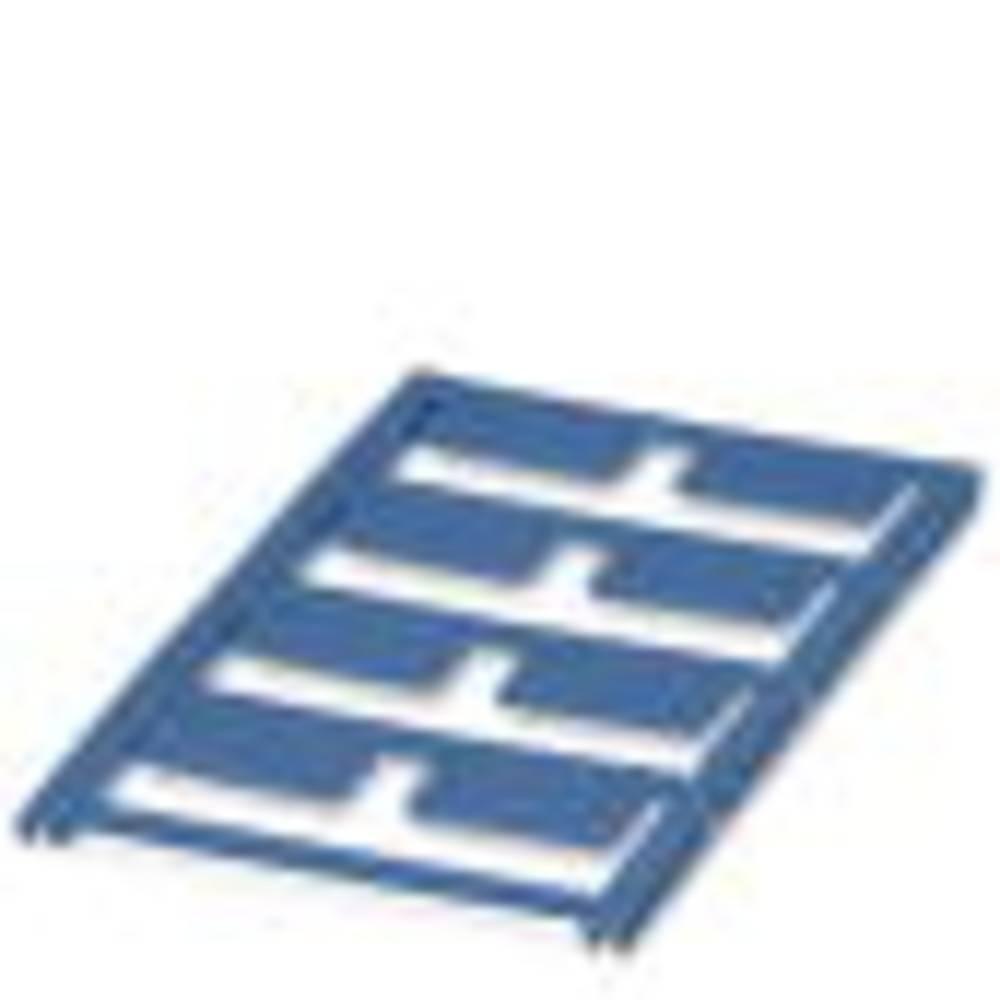 Etiketten voor thermotransferprinter Montagemethode: Plakken Markeringsvlak: 12.50 x 27 mm Blauw Pho