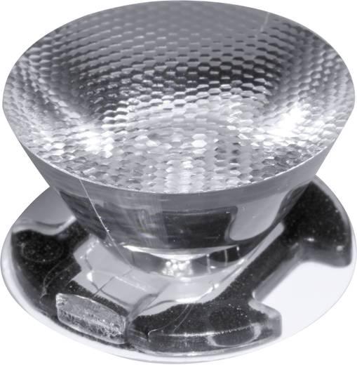Ledil CA11391_EMILY-M2 LED-optiek Helder, Geribbeld Transparant 28 ° Aantal LED´s (max.): 1 Voor LED: Seoul Semiconductor® Z5