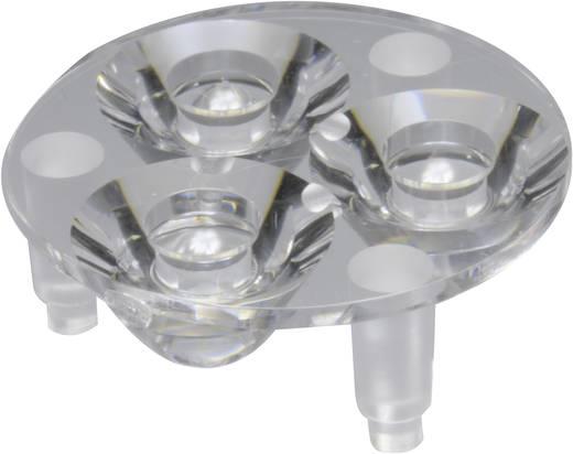 Carclo 10507 LED-optiek Helder Transparant 15.1 ° Aantal LED´s (max.): 3 Voor LED: Luxeon® Rebel, Seoul Semiconductor® Z5
