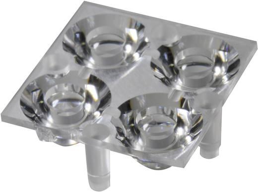 Carclo 10610 LED-optiek Helder Transparant 16.2 ° Aantal LED´s (max.): 4
