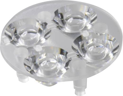 Carclo 10621 LED-optiek Helder Transparant 16.4 ° Aantal LED´s (max.): 4 Voor LED: Luxeon® Rebel, Seoul Semiconductor® Z5