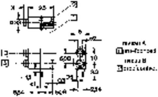 Mentor 1812.2235 Testbus Bus, inbouw horizontaal 1 stuks