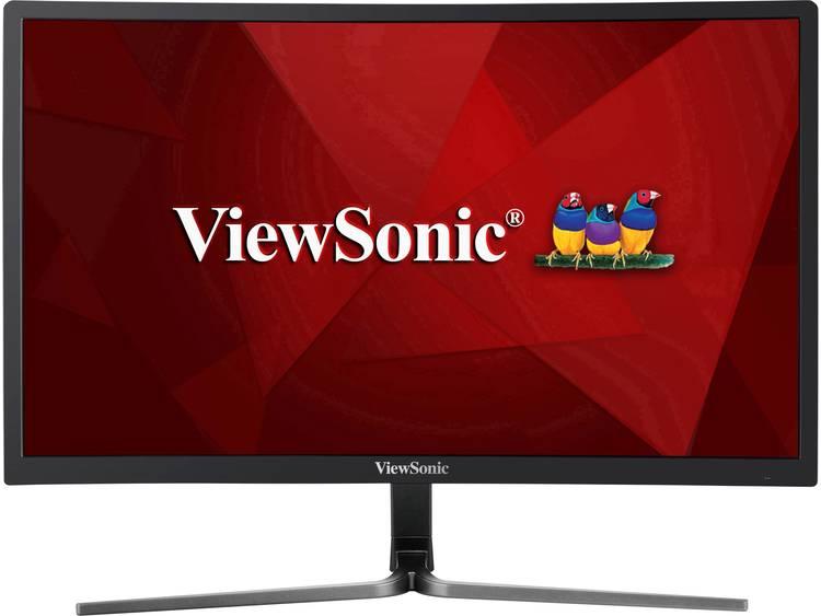 Viewsonic VX2458-C-MHD LCD-monitor 61 cm (24 inch) Energielabel B (A+++ – D) 1920 x 1080 pix Full HD 1 ms HDMI, DisplayPort, DVI, Hoofdtelefoon (3.5 mm