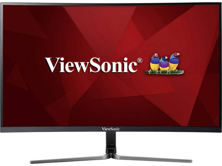 Viewsonic VX3258-2KC-MHD LCD-monitor 81.3 cm (32 inch) Energielabel B (A+++ – D) 2560 x 1440 pix WQHD 5 ms HDMI, DisplayPort, Hoofdtelefoon (3.5 mm jackplug)