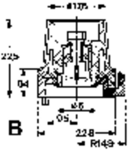 Mentor ** FESTSTELLKNOPF M.STRICHMARKIERUNG Preciesie-schaalverdeling Met knopmarkering Zwart 1 stuks