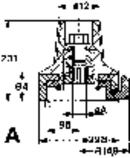 Mentor FESTSTELLKNOPF SW M. SKALA Preciesie-schaalverdeling Met knopmarkering Zwart 1 stuks