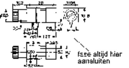 Mentor 1820.1031 Zekeringhouder Geschikt voor Buiszekering 5 x 20 mm 6.3 A 1 stuks