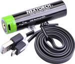 Nextorch 3.400 mAh USB 18650 accu