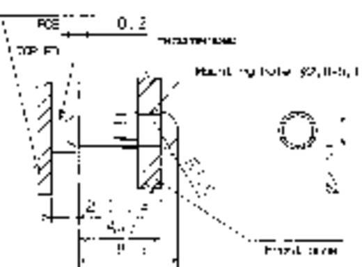 Mentor 1282.1000 Lichtbuis Star Paneelmontage, Klempassing