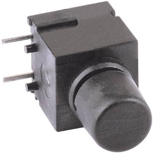 Mentor 1852.6232 Druktoets 60 V DC/AC 0.5 A 1x uit/(aan) schakelend 1 stuks