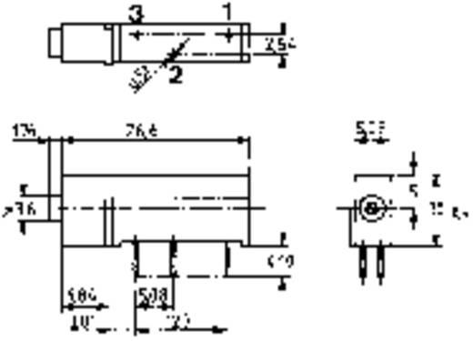 Mentor 1834.3081 Cermet-trimmer 15-slagen Lineair 0.9 W 5 kΩ 1 stuks