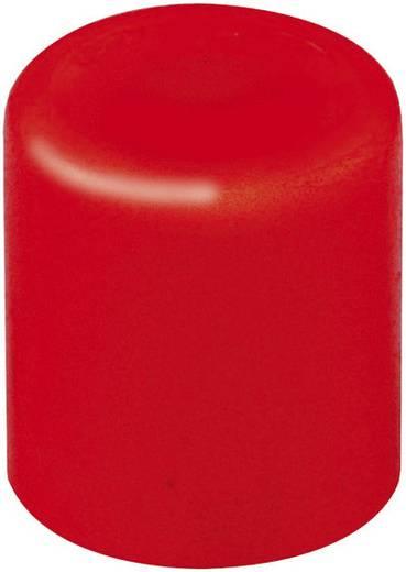 Mentor BEDIENUNGS-KNOPF ROT Drukknop Rood (Ø x h) 3.8 mm x 4 mm 1 stuks
