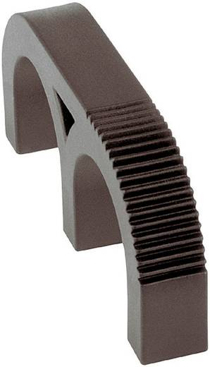 Mentor 3210.2003 Vingergreep Zwart (l x b x h) 63.5 x 9.5 x 27 mm 1 stuks
