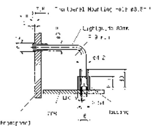 Mentor 1316.2001 Lichtbuis Flexibel Paneelmontage, Klempassing