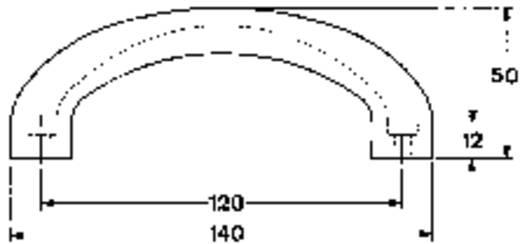 Mentor 3212.1200 Draaghandgreep Zwart (l x b x h) 140 x 28 x 50 mm 1 stuks