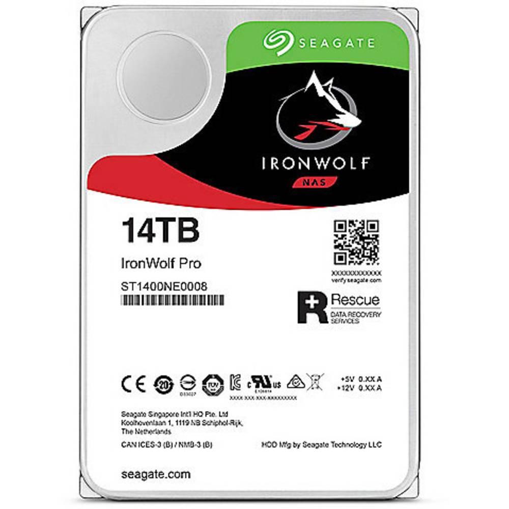 Seagate IronWolf Pro 14 TB Hårddisk 3.5 SATA III ST14000NE0008 Bulk
