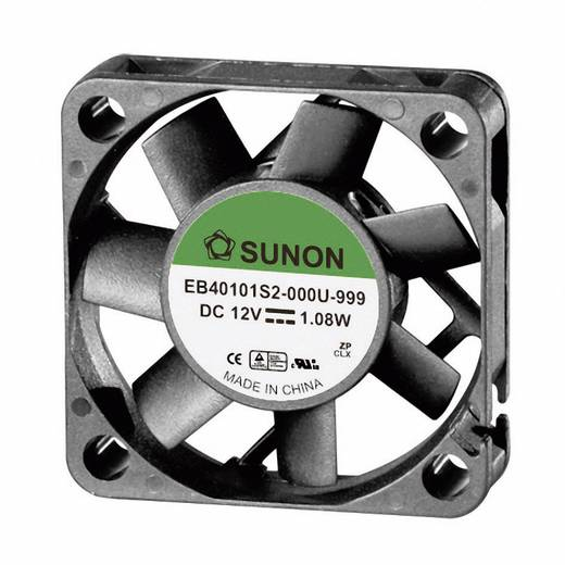 Axiaalventilator 12 V/DC 11.89 m³/h (l x b x h) 40 x 40 x 10 mm Sunon EB40101S2-0000-999