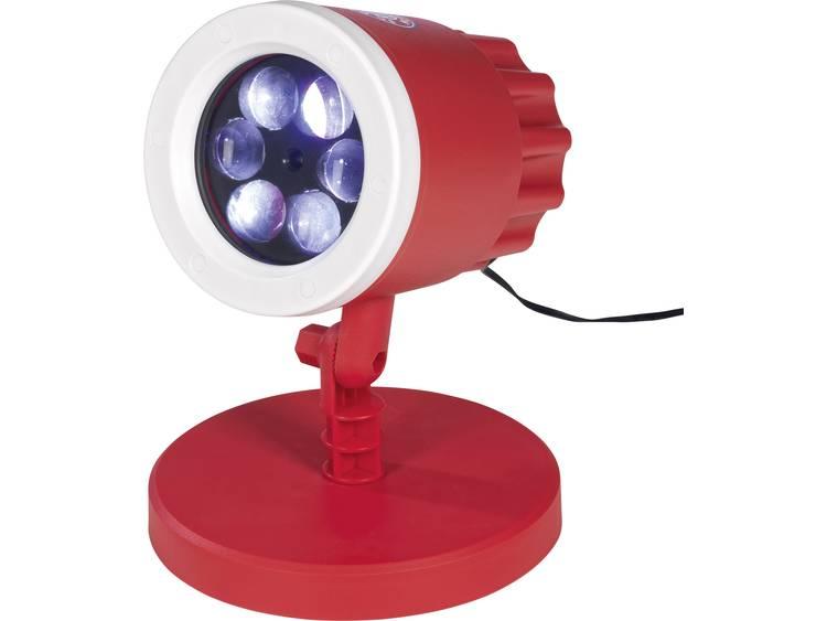 03976 LED-decolamp LED Rood/wit