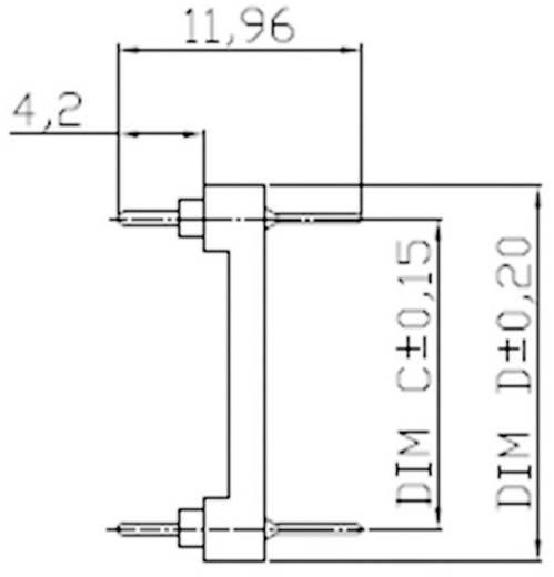 ASSMANN WSW AR 14-ST/T Adapter IC-fitting 7.62 mm Aantal polen: 14 1 stuks