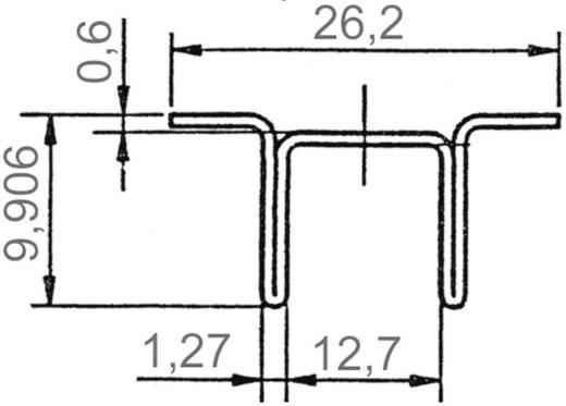 SMD-koellichaam 23 K/W (l x b x h) 12.7 x 26.2 x 9.9 mm