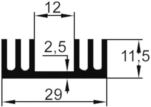 Strengkoellichaam 12 K/W (l x b x h) 29 x 11.5 x 20 mm TO-220 ASSMANN WSW V4330N