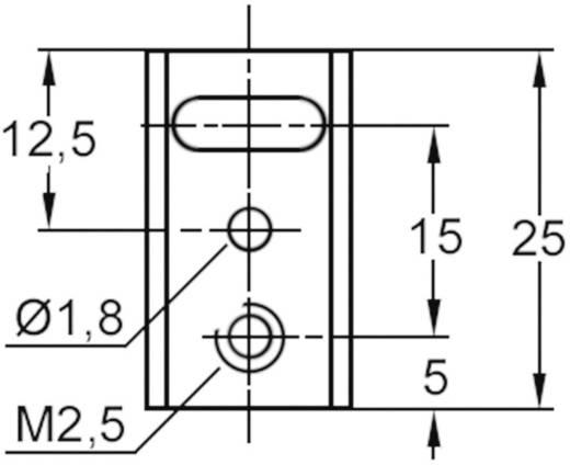U-koellichaam 20 K/W (l x b x h) 25 x 14 x 15 mm TO