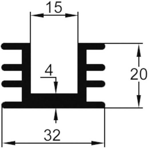 Strengkoellichaam 8 K/W (l x b x h) 30 x 32 x 20 mm