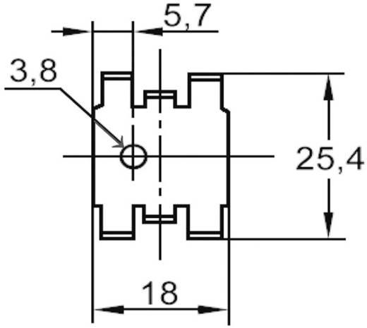 Transistorklem 25 K/W (l x b x h) 18 x 25.4 x 7.9 mm TO-220 ASSMANN WSW V5234B-T