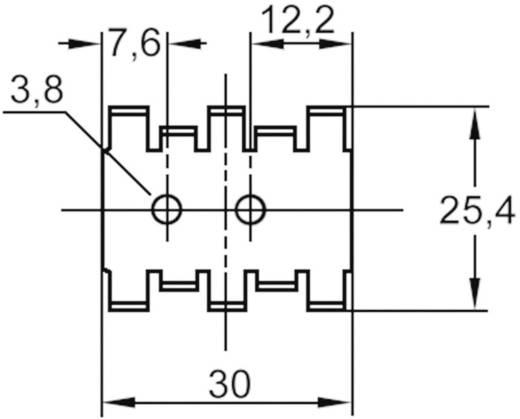 Transistorklem 18 K/W (l x b x h) 30 x 25.4 x 7.9 mm