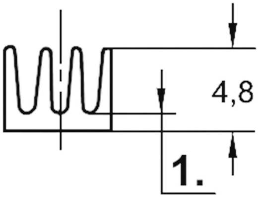 Strengkoellichaam 46 K/W (l x b x h) 19 x 6.3 x 4.8 mm