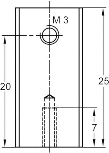 Strengkoellichaam 40 K/W (l x b x h) 25 x 12 x 6.5 mm TO-220 ASSMANN WSW V5629G