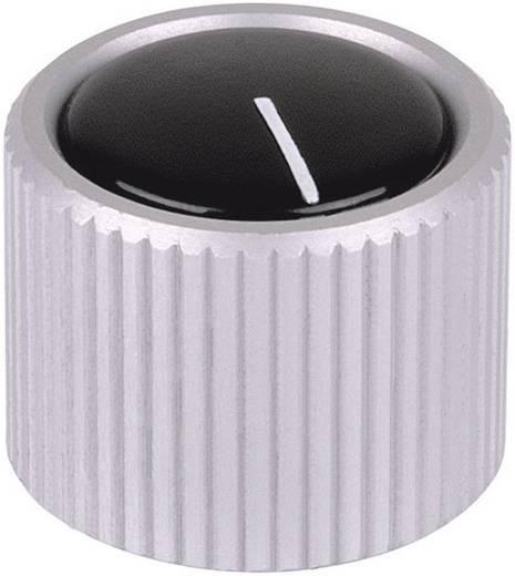 Mentor 531.6 Draaiknop Aluminium (geëloxeerd) (Ø x h) 12 mm x 15 mm 1 stuks